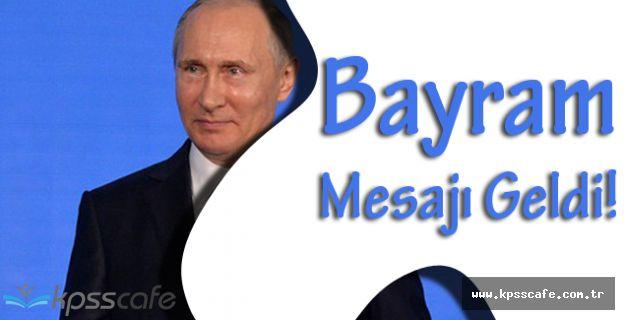 Vladimir Putin'den Kurban Bayramı Mesajı!!