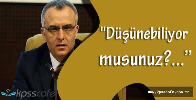 Maliye Bakanı Naci Ağbal, Terör Hakkında Sert Konuştu!