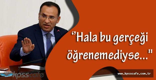 Bozdağ: ''ABD'nin Ankara Büyükelçisi, hala bu gerçeği öğrenemediyse...''