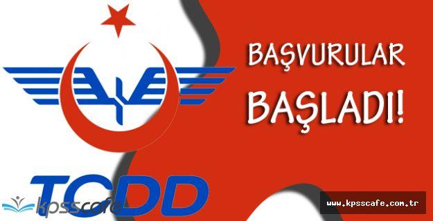 TCDD Ülke Geneli KPSS'siz 108 İşçi Alımı Başvuruları Başladı!