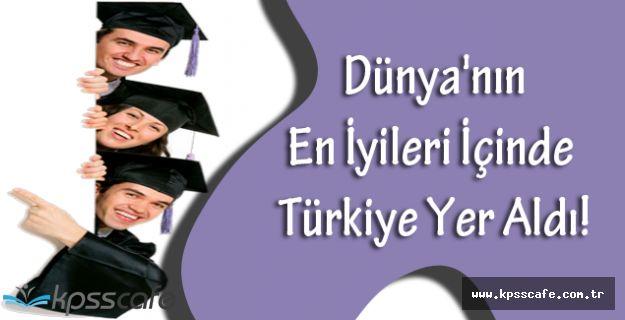 Dünya'nın En İyileri İçinde Türkiye'nin 18 Üniversitesi Yer Aldı!