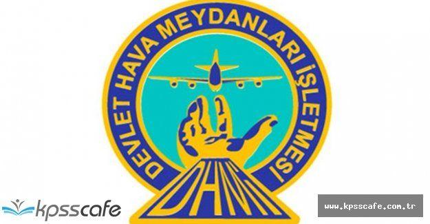 Devlet Hava Meydanları İşletmesi Genel Müdürlüğü Personel Alımı