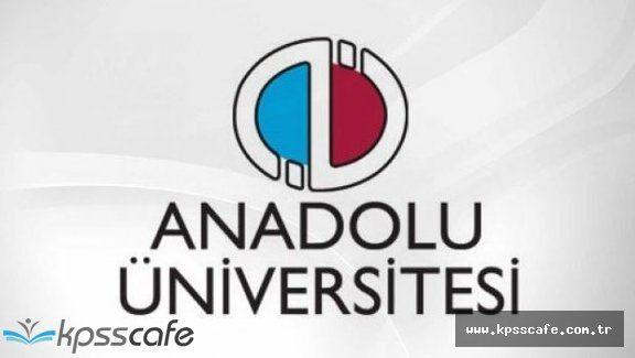 A.Ü Açıköğretim Fakültesi Kayıt Yenileme İşlemleri Başladı!