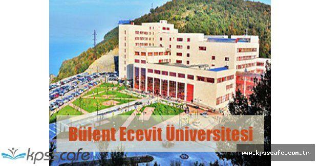 Bülent Ecevit Üniversitesi Personel Alımı Yapıyor!