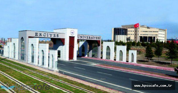 Erciyes Üniversitesi Personel Alımı Gerçekleştirecek!