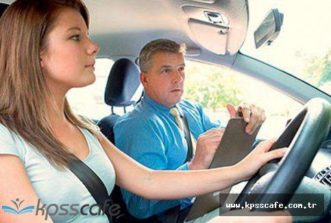 Motorlu Taşıt Sürücü Kursiyerleri Sınavı İçin Geri Sayım Başladı!