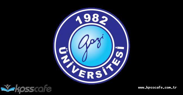 Gazi Üniversitesi Sözleşmeli Personel Alıyor!