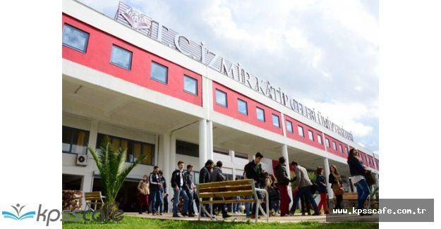 İzmir Katip Çelebi Üniversitesi Personel Alımı Yapacak!