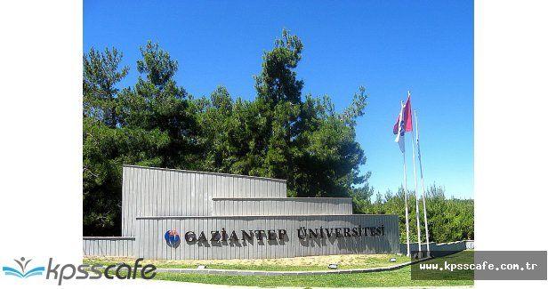 Gaziantep Üniversitesi Sözleşmeli Personel Alımı Yapıyor!