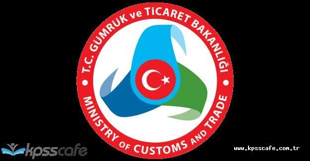 Gümrük ve Ticaret Bakanlığı, Türkiye Geneli 763 Memur Alıyor!