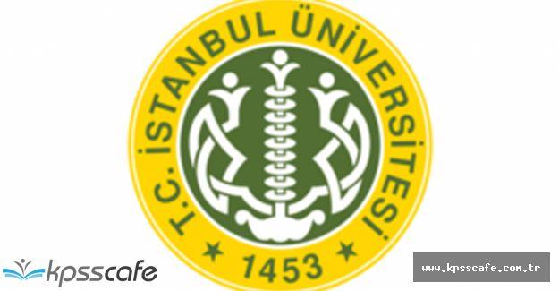 İstanbul Üniversitesi KPSS'den 55 Puan ile 92 Sözleşmeli Personel Alacak!