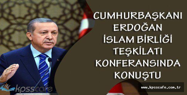 Cumhurbaşkanı Recep Tayyip Erdoğan İslam İşbirliği Teşkilatı Üyesi Balkanlar Konferansında Konuştu