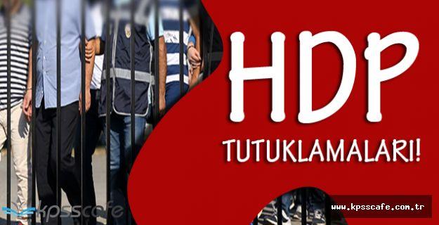 HDP Gözaltılarında Son Dakika! Tutuklanan HDP'liler!