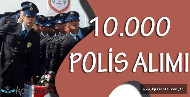 Emniyet Genel Müdürlüğü Kpss Şartsız 10.000 Polis Alımı Başvuruları Devam Ediyor!