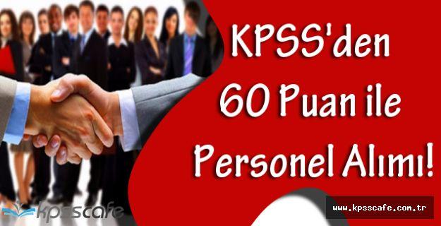 Sosyal Yardımlaşma Vakfı KPSS'den en az 60 Puan ile Personel Alımı!