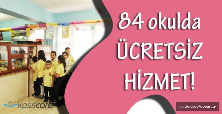 84 Okulda Kantinler Şehit ve Gazi Çocuklarına Ücretsiz!