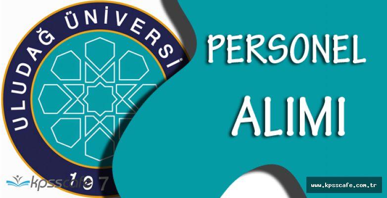 Uludağ Üniversitesi Personel Alımı Yapacak!