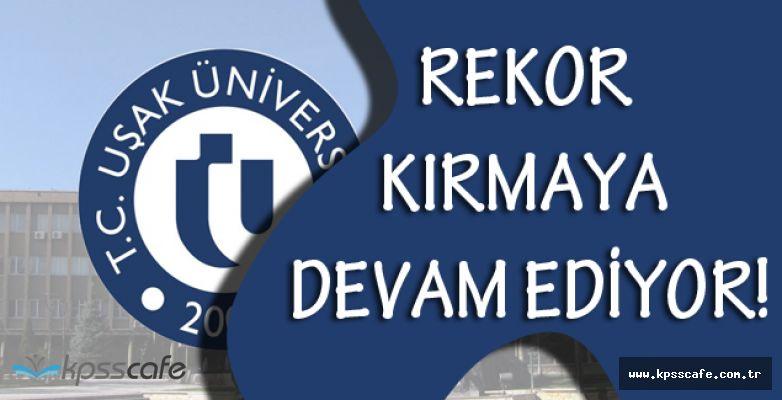Uşak Üniversitesi'nden Rekor Üstüne Rekor!