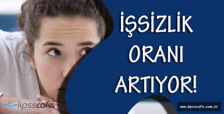 Türkiye'deki İşsizlik Oranı Azalmak Yerine Sürekli Artıyor!
