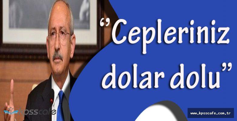Kemal Kılıçdaroğlu'ndan Çarpıcı Açıklamalar! ''8 milyon işsiz var. Sizin cepleriniz dolar dolu.''