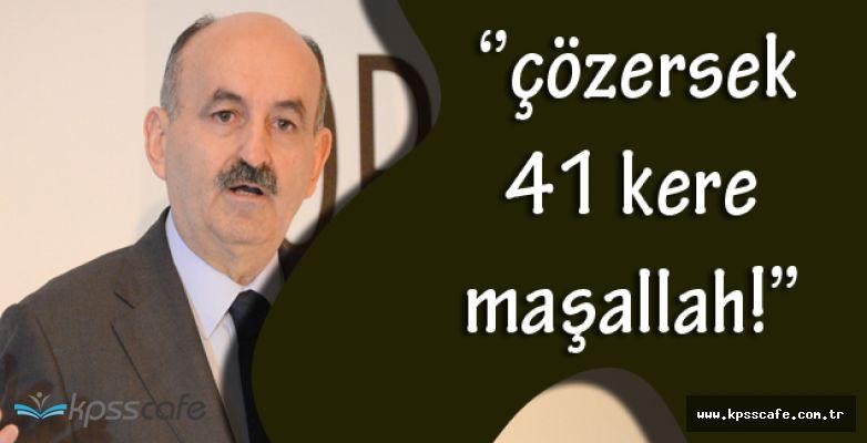 Çalışma Bakanı Kıdem Tazminatı Hakkında Açıklama Yaptı! ''41 Yıllık Konuyu Çözebilirsek 41 Kere Maşallah!''