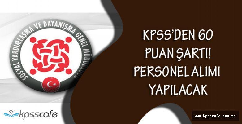 SYDV KPSS'den 60 Puan Alan Adayları Göreve Çağırıyor!