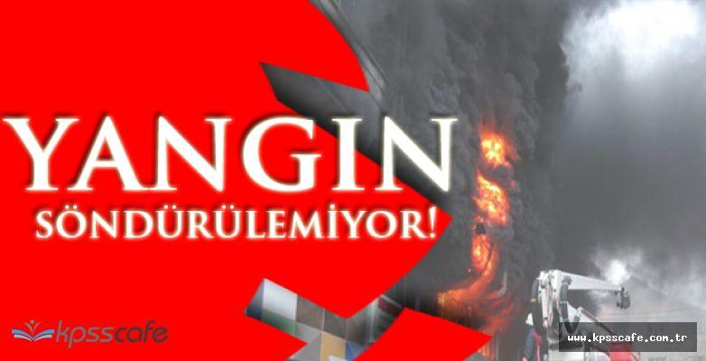İstanbul Yangını Söndürülemedi! Okullar Tatil!