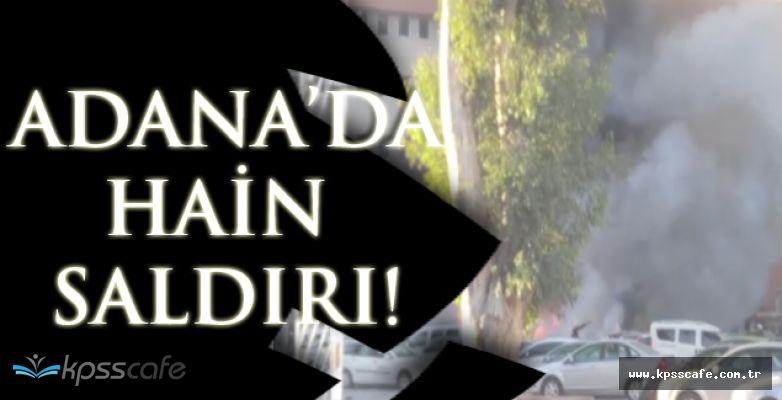 SON DAKİKA! Adana'da Patlama!