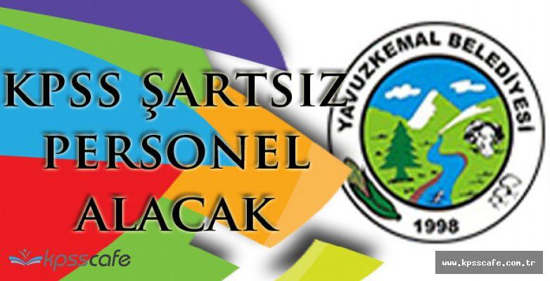 Giresin YavuzKemal Belediye Başkanlığı KPSS Şartsız Personel Alacak!