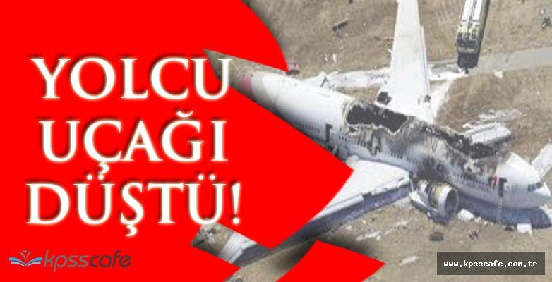Yolcu Uçağı Düştü! Çok Sayıda Yaralı Var!