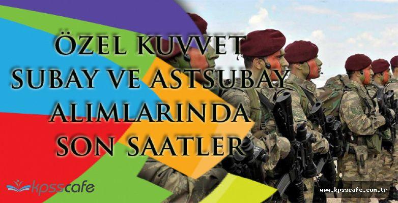Türk Silahlı Kuvvetleri Bordo Bereli Alımlarında Son Saatler!