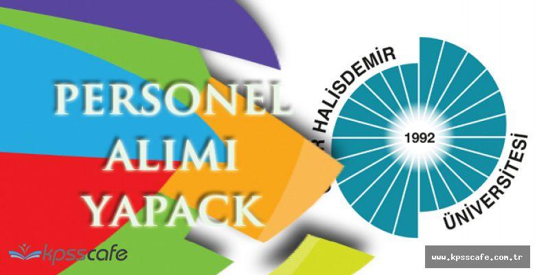 Ömer Halis Demir Üniversitesi Personel Alım İlanı!
