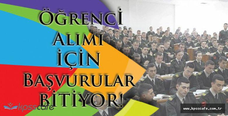 Milli Savunma Üniversitesi Öğrenci Alımı için Başvurular Bitiyor!