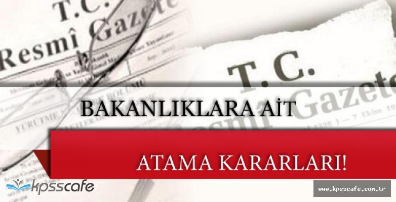 3 Aralık 2016 Tarihli Atama Kararları Resmi Gazete'de!
