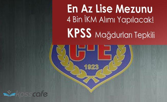 KPSS Mağdurlarından Adalet Bakanlığı 4 Bin İnfaz Koruma Memuru Alımı Tepkisi