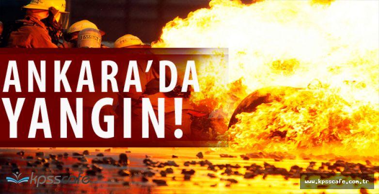 Son dakika: Ankara Siteler'de Büyük Yangın!