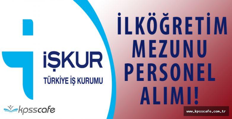 Çağlayan Belediyesi İlköğretim Mezunu Personel Alımı Yapacak!