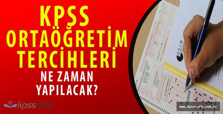 2016 KPSS Ortaöğretim Tercih Kılavuzu Ne Zaman Açıklanacak?