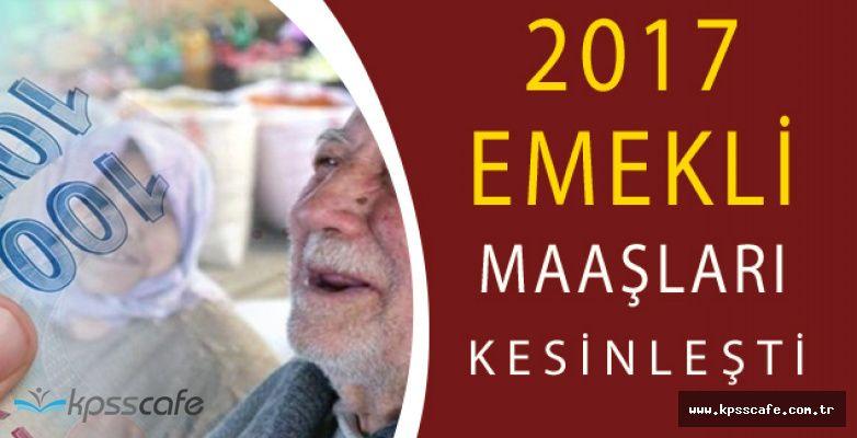 2017 Emekli Maaş Zamları Belli Oldu:Kıdem Tazminatı Ne Kadar Arttı?