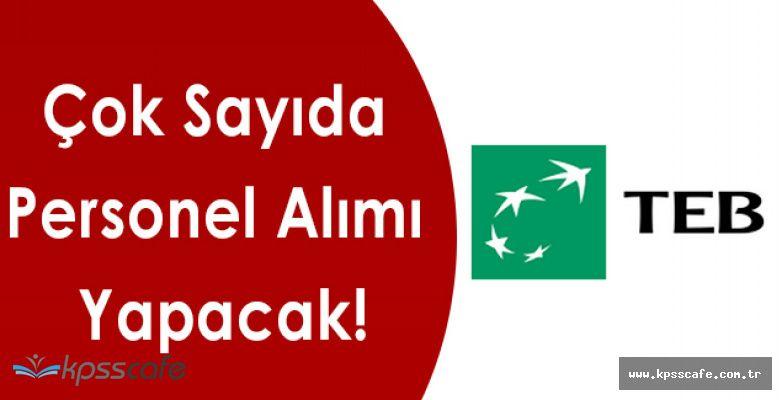Türkiye Ekonomi Bankası Çok Sayıda Personel Alımı Yapacak!