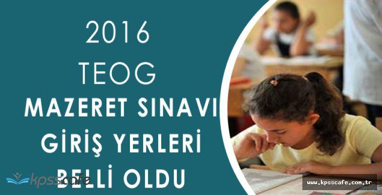 2016/1 TEOG Mazeret Sınav Tarihi Belli Oldu