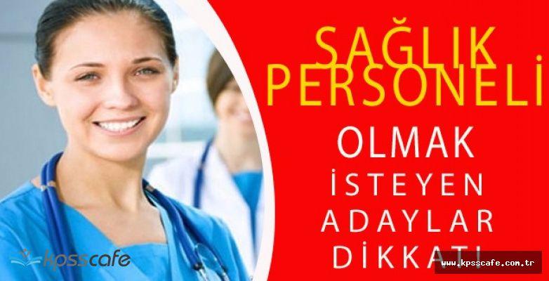 Sağlık Meslek Yüksek Okullarının KPSS Atama Puanları!