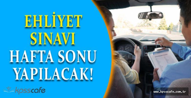 6. Motorlu Taşıt Sürücü Sınavı İçin Heyecan Dorukta!