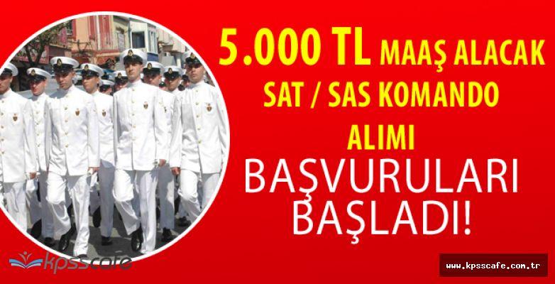 Deniz Kuvvetleri SAT-SAS Komando Başvurularının Başlamasına Saatler Kaldı! 5.000 TL Maaş Verilecek