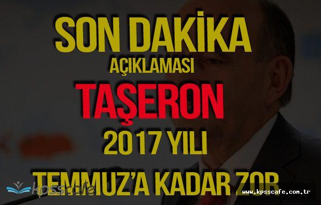 Çalışma Bakanı Müezzinoğlu'ndan Son Dakika Taşeron Açıklaması