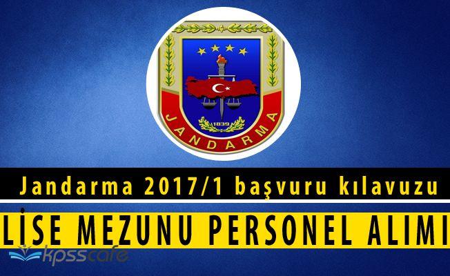 Jandarma Genel Komutanlığı Lise Mezunu Personel Alım Başvuruları Başladı
