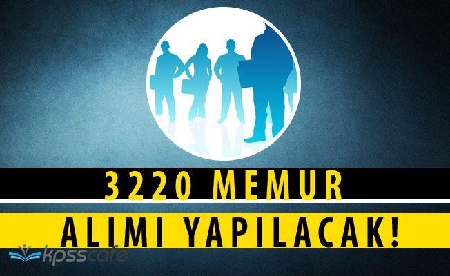 2828 Sayılı Kanun Kapsamında Kamu Kadrolarına 3220 Personel Yerleştirilecek!