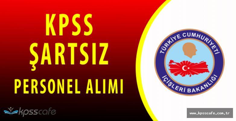 Kaymakamlıklara En Az İlkokul Mezunu Personel Alımı (KPSS ŞARTSIZ)