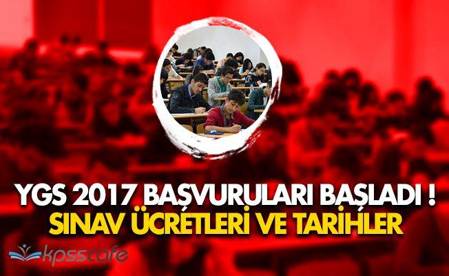 Yüksek Öğretime Geçiş Sınavı (YGS) 2017 Başvuruları Başladı!
