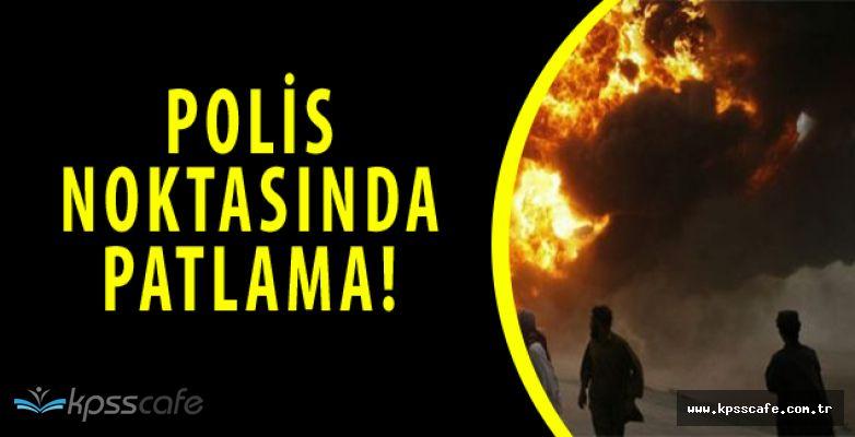 Diyarbakır'da Polis Noktasında Patlama